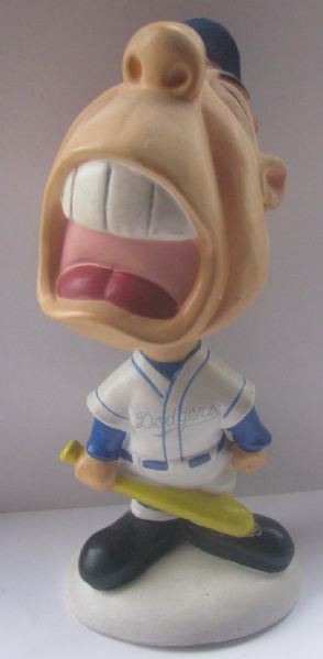 60's LOS ANGELES DODGERS WEIRDO BOBBING HEAD - CRYBABY w/HANG TAG