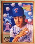 NOLAN RYAN SIGNED HEROES OF THE GAME LIMITED EDITION MAGAZINE w/SGC COA