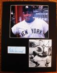 ELSTON HOWARD SIGNED PHOTO DISPLAY w/JSA COA