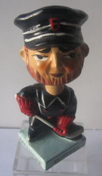 60's BALTIMORE CLIPPERS AHL BOBBING HEAD