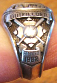lot detail hank aaron hall of fame ring