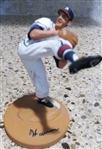 WARREN SPAHN GARTLAN MINI BASEBALL STATUE