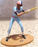 ROD CAREW GARTLAN MINI BASEBALL STATUE