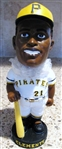 2001 ROBERTO CLEMENTE PNC PARK GIVE-AWAY BOBBLE HEAD w/PICTURE BOX