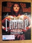 CHRISTY MARTIN SIGNED SPORTS ILLUSTRATED W/SGC COA