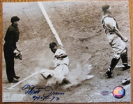 MONTE IRVIN HOF 73 SIGNED PHOTO w/SGC COA