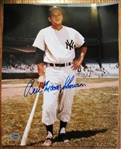 BILL MOOSE SKOWRON SIGNED PHOTO w/ SGC COA