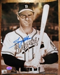TOMMY HOLMES SIGNED PHOTO w/ SGC COA