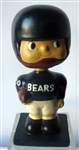 "60s CHICAGO BEARS ""WOOD BASE"" BOBBING HEAD"