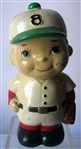 VINTAGE BASEBALL PLAYER BANK