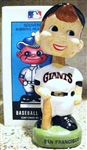80s SAN FRANCISCO GIANTS BOBBING HEAD w/BOX