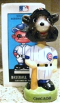 80s CHICAGO CUBS BOBBING HEAD w/BOX