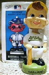 80s OAKLAND ATHLETICS BOBBING HEAD w/BOX