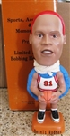 SAMS DENNIS RODMAN BASKETBALL BOBBLE HEAD ORANGE HAIR w/BOX