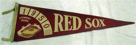 1950 BOSTON RED SOX PENNANT