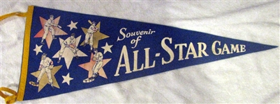 1955 ALL-STAR GAME PENNANT