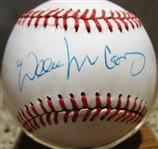 WILLIE MCCOVEY SIGNED BASEBALL w/CAS COA