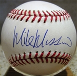 MIKE MUSSINA SIGNED BASEBALL w/CAS COA
