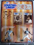 WILLIE STARGELL SIGNED STARTING LINE-UP FIGURE w/JSA COA