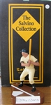 VINTAGE MICKEY MANTLE HARTLAND w/ SIGNED SALVINO STATUE BASE