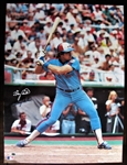 "GARY CARTER NY METS  SIGNED 21"" x 28"" COLOR POSTER w/CAS COA"