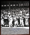 "PETE ROSE 1st GAME 4-8-63 SIGNED 20"" x 24""  PHOTO w/CAS COA"