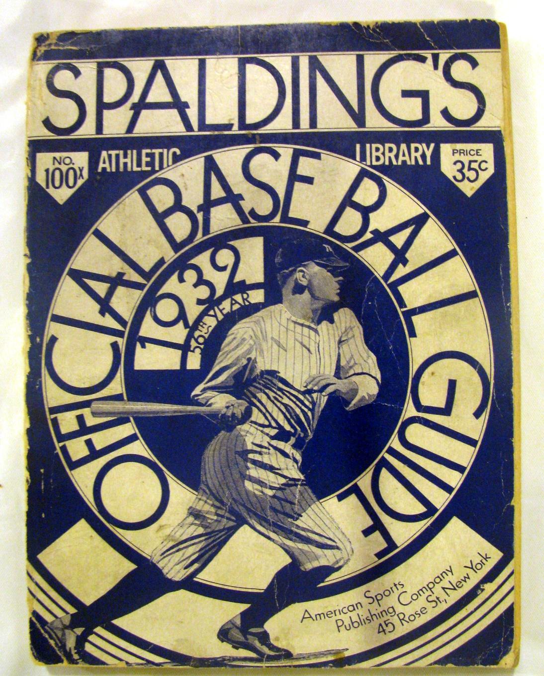 spalding baseball guide