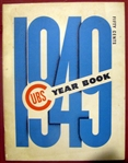 1949 CHICAGO CUBS YEARBOOK