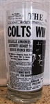 1958 BALTIMORE COTS WIN CHAMPIONSHIP GLASS
