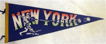 40s NEW YORK YANKEES PENNANT