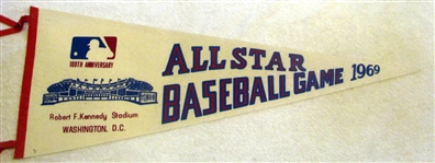 1969 ALL-STAR GAME PENNANT - WASHINGTON D.C.