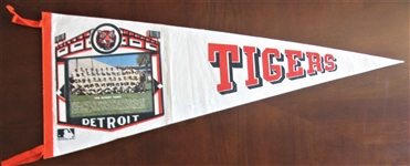 1970 DETROIT TIGERS TEAM PICTURE PENNANT