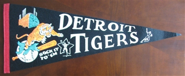 60s DETROIT TIGERS PENNANT