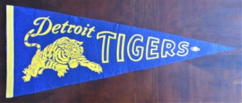 50s DETROIT TIGERS PENNANT