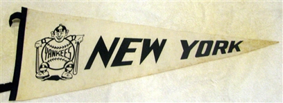 50s NEW YORK YANKEES PENNANT