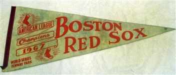 "1967 BOSTON RED SOX ""WORLD SERIES"" PENNANT"