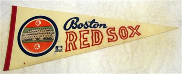 "1969 BOSTON RED SOX ""PHOTO"" PENNANT"