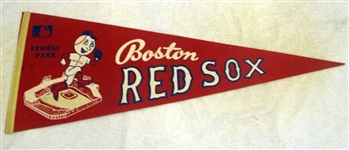 60s BOSTON RED SOX PENNANT