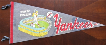 60s NEW YORK YANKEES PENNANT