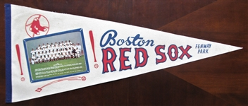 1968 BOSTON RED SOX TEAM PICTURE PENNANT