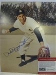 "PHIL RIZZUTO SIGNED 8"" X 10"" PHOTO w/CAS COA"