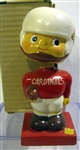 "60s ST. LOUIS CARDINALS ""SQUARE BASE"" BOBBING HEAD w/BOX"