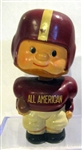 60s ALL-AMERICAN FOOTBALL BOBBING HEAD / BANK