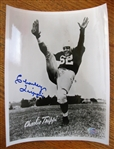 CHARLIE TRIPPI SIGNED PHOTO w/SGC COA