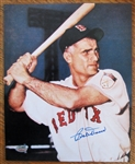 BOB DOERR SIGNED COLOR PHOTO w/SGC COA