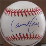 DAVID CONE SIGNED 1998 WORLD SERIES BASEBALL w/JSA COA