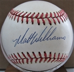 MATT WILLIAMS SIGNED BASEBALL w/JSA COA