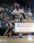 "ROD CAREW SIGNED 8"" x 10"" PHOTO w/TRISTAR COA"
