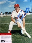 "MIKE SCHMIDT SIGNED 8"" x 10"" PHOTO w/CAS COA"