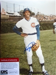 "FERGUSON JENKINS SIGNED 8"" x 10"" PHOTO w/CAS COA"